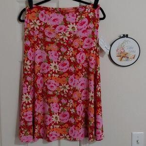 LuLaRoe L Azure Skirt